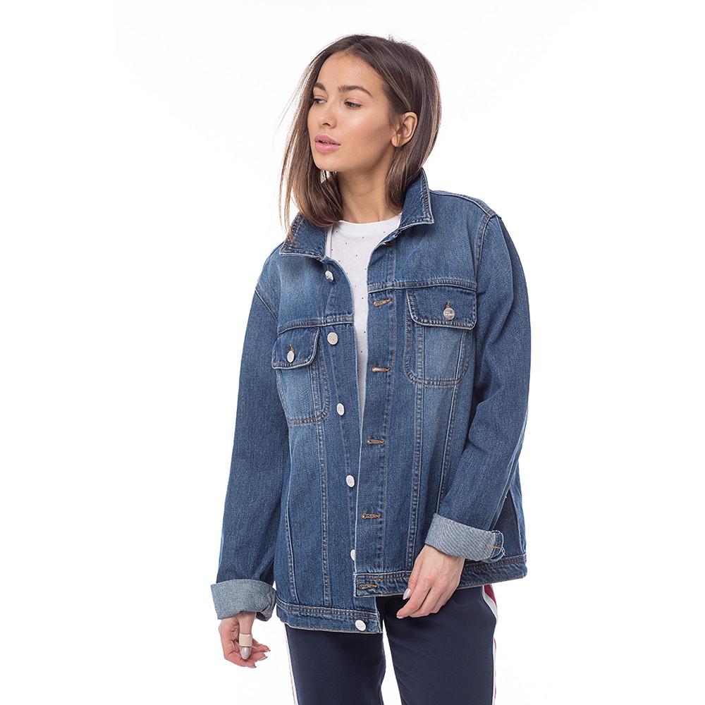 78b51a145c1 Куртка джинсовая женская Blondie итальянского бренда 2W 2M в ...